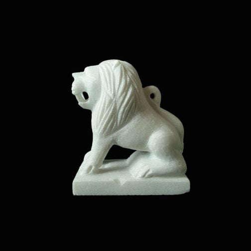 marble handicrafts lion