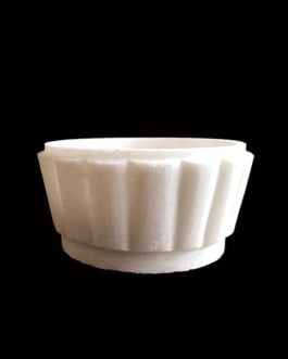 2 inch White Marble Candle Stand